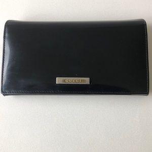 Vintage authentic Gucci clutch wallet